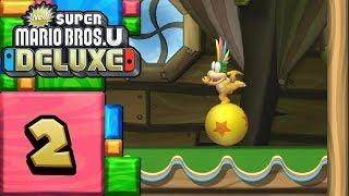 New Super Mario Bros. U Deluxe ITA [Parte 2 - Lemmy]