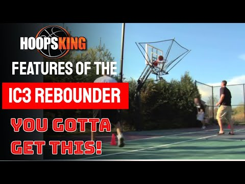automatic basketball return machine