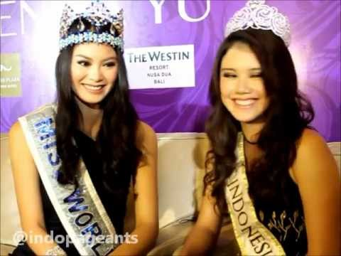 Miss World 2012 - Wenxia Yu Asked About BF