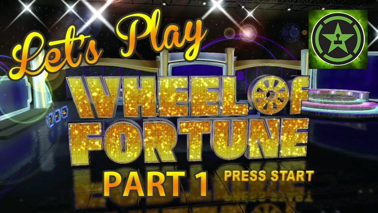 lets play wheel of fortune part 1 youtube