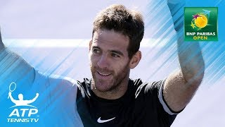 Del Potro wins breathtaking final against Federer!   Indian Wells 2018 Final Highlights