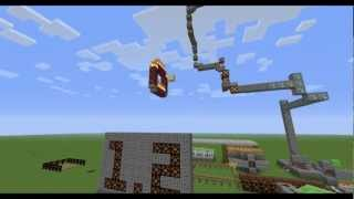 Minecraft 1.2 Features Overviews - Rube Goldberg Machine Style!!!