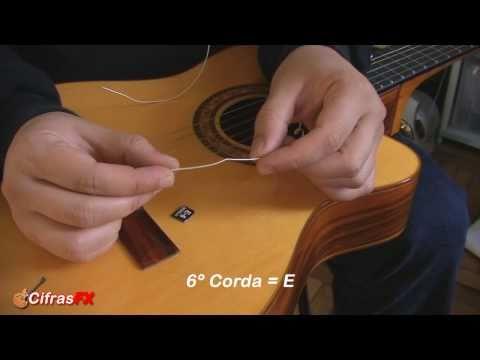 Trocando as cordas do violão - Cifras FX.com.br