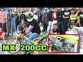GILA !!! MX 200cc vs NINJA 155cc thumbnail