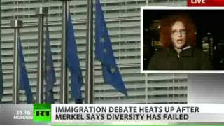 Anetta Kahane-Fugly Kike-ess Openly Backed by MSM Pushed Euro-Invasion As Recently As 2010