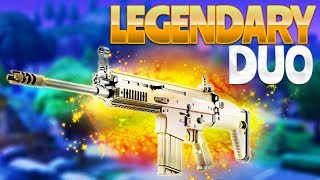 LEGENDARY DUO (Fortnite Battle Royale)