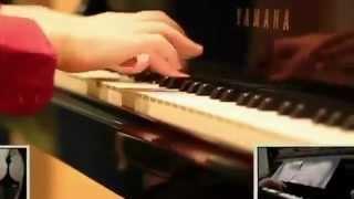 「ムーンライト伝説」を弾いてみた【3D-PIANO ANIME Theater!】