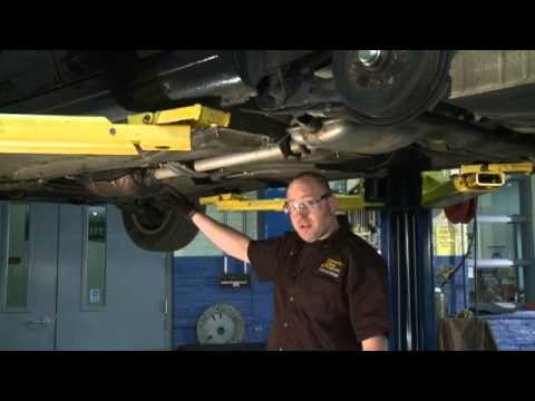 Community College of Philadelphia Car Corner: Replacing the Exhaust System