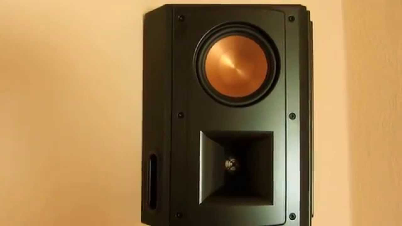 klipsch rs 52 mkii rc 52 mkii rf 62 mkii i love it youtube. Black Bedroom Furniture Sets. Home Design Ideas