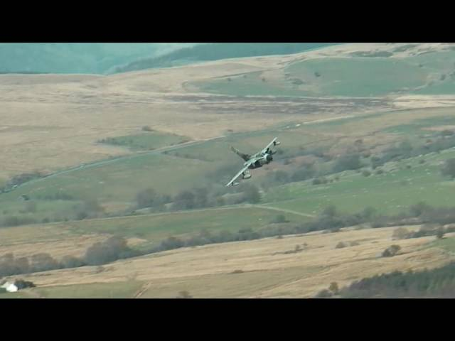 Mach Loop, Low Fly Wales Cad West and Bwylch.