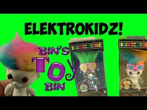Elektrokidz!! Funny Dancing Troll Dolls! Review by Bin's Toy Bin