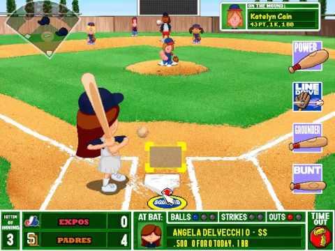 backyard baseball postseason gameplay nlcs game 1 padres vs expos