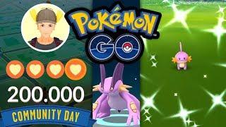 Shiny-Hydropi Community Day + neues Update = genial   Pokémon GO Deutsch #1073