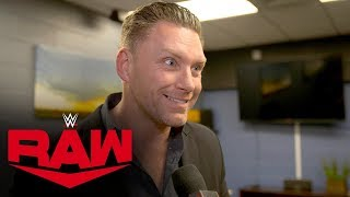 What is Sylvain Grenier doing back in WWE?: Raw Exclusive, Jan. 20, 2020