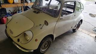 Subaru 360 Two Stroke Vintage Race Car