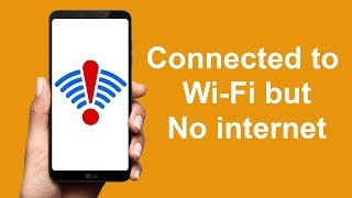 Fix WiFi Problem connected but no internet on Android