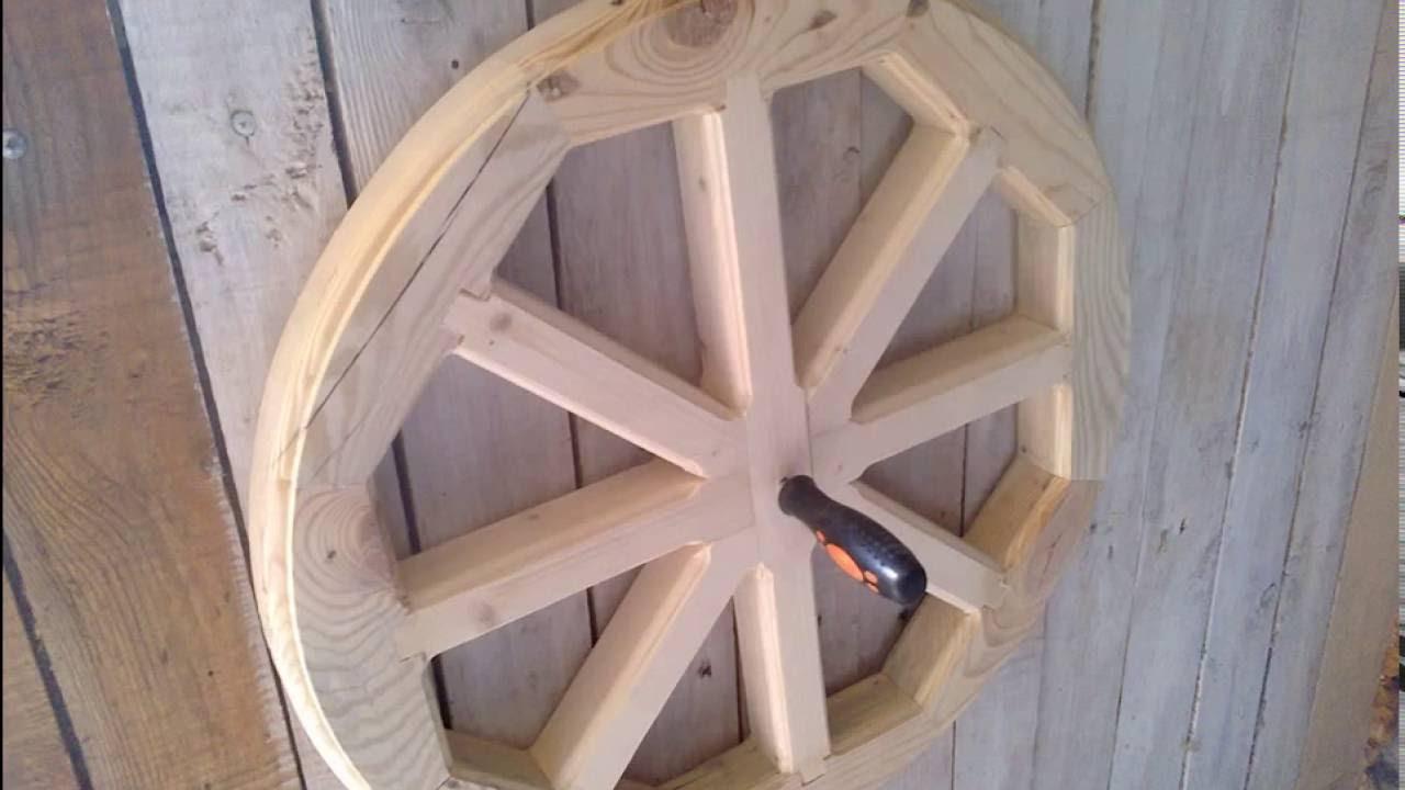 Как сделать деревянное колесо своими руками фото 84