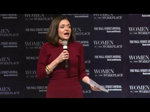 Sheryl Sandberg on Women at Work at WSJ