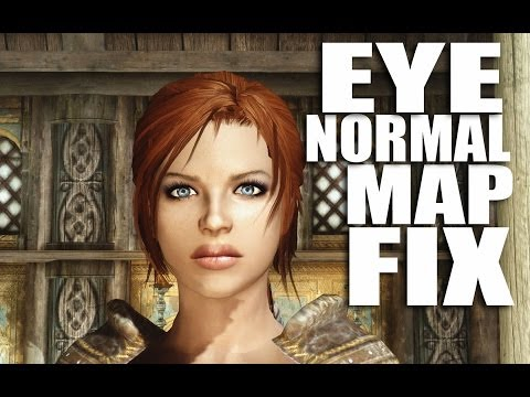 Skyrim Mods Watch: Eye Normal Map Fix