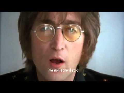 Imagine john Lennon traduzione in italiano (VIDEO HD + TESTO)