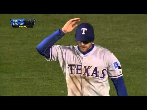 Gentry Diving Catch Saves the Game vs Chicago Cubs 4/16/13 (Slow-Mo View)