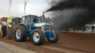 Tracteur Pulling Ford TW10 Incourt 25 septembre 2016