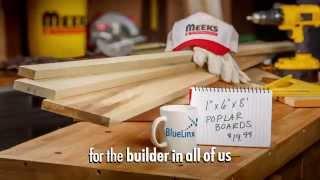 BlueLinx Finish Grade Lumber at Meek's