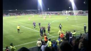 Akpo Sodje goal for Preston North End Vs Morecambe JPT