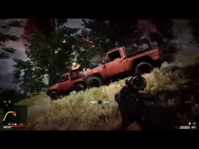 Far Cry 4 Bear Launcher