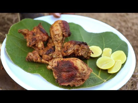 SUPER EASY MANGO CHICKEN WITH MANGO PICKLE || BACHELORS COOKING RECIPES || FRIED CHICKEN