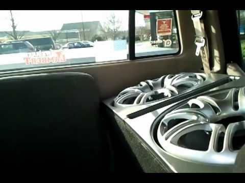 2 12″ subs in sport trac mcdonalds parking lot