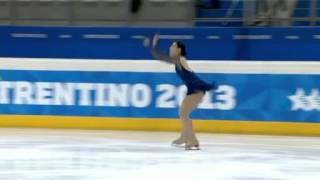 Mari SUZUKI JPN SP Winter Universiade 2013