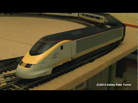 My review, set up and test drive of the Hornby R2379 Class 373 Eurostar six piece train pack. This train pack was released for a short while in 2006 which in...