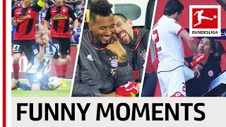 Top 10 Funny Moments 2016/17 - Have A Laugh With The Bundesliga