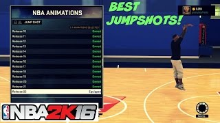 NBA 2K16| Top 3 Best JumpShots | Myplayer , Mycareer, Mypark , Stage - Prettyboyfredo