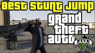 GTA 5 - Best Stunt Jump Spot in the Game??