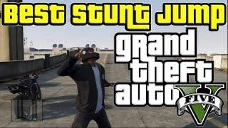GTA 5 - Best Stunt Jump Spot in the Game??