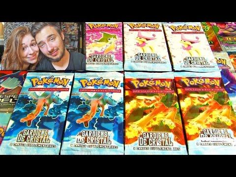 # 750 000 Abonnés # Ouverture de 8 Boosters Pokémon EX GARDIEN DE CRISTAL ULTRA-RARE !!