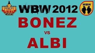 Bitwa: BONEZ vs ALBI [WBW 2012 Freestyle Grand Prix Powiśla]