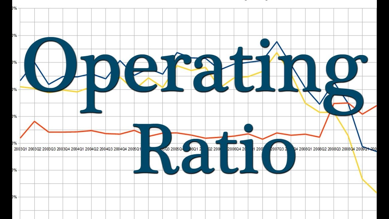 operating ratio - learn accounting online