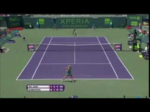 Serena Williams Vs. Maria Sharapova - WTA Masters Miami 2013 Final - Last Game Highlights
