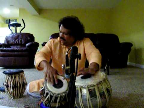 Pradip Ghosh - Solo Tabla Lesson - Drut Ektaal