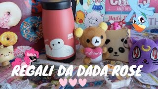 Regali da Dada Rose *____* KAWAII!!!