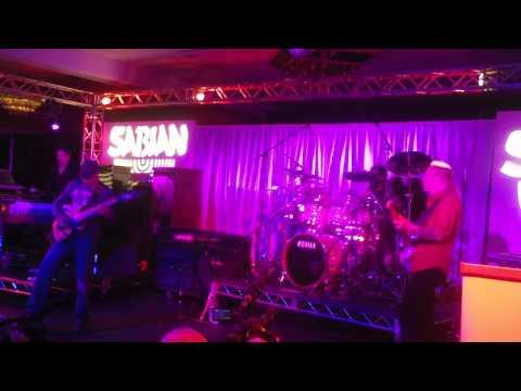 Winter NAMM 2012 - Sabian Live - Tony MacAlpine - Billy Sheehan - Mike Portnoy