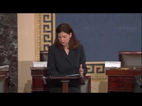 Ayotte Speaks on the Senate Floor Regarding Sanctions on Iran and Senate Resolution 65
