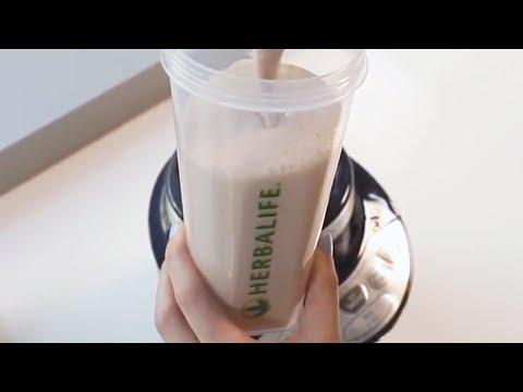 How to make an Herbalife Shake using Herbalife Formula 1 Chocolate Flavor   Herbalife Advice