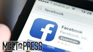 Questions mount for 'Senator Facebook' | Meet The Press | NBC News