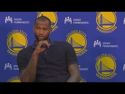 DeMarcus Cousins Responds to Ruining The NBA By Joining Warriors