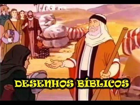 Desenhos Bíblicos. Hanna Barbera dublado