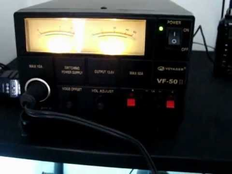 RADIOAMADOR FONTE DE ALIMENTAO VOYAGER VF II 50 A